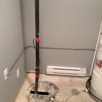 extra electric water heater install