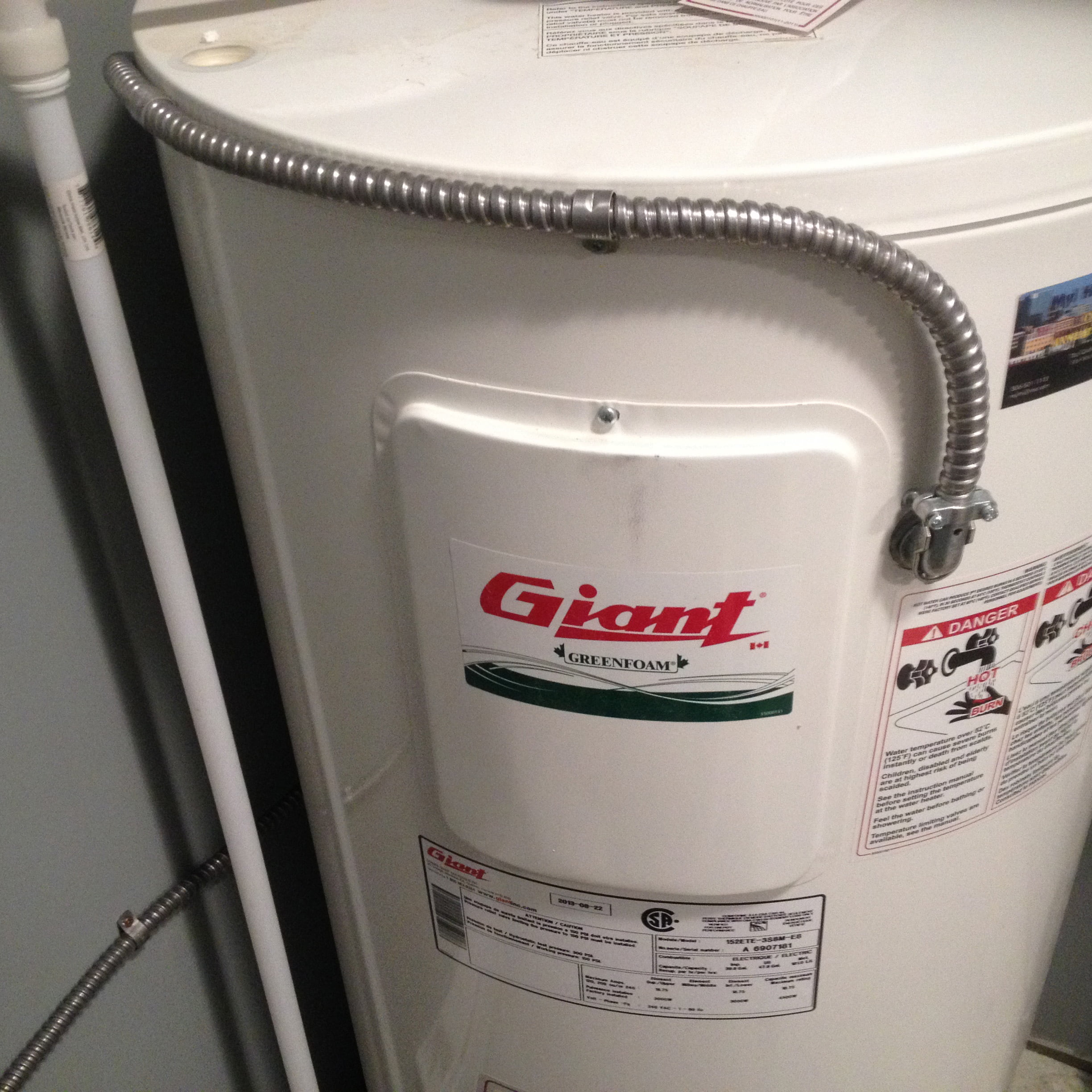Regina - Electric Water Heater Install